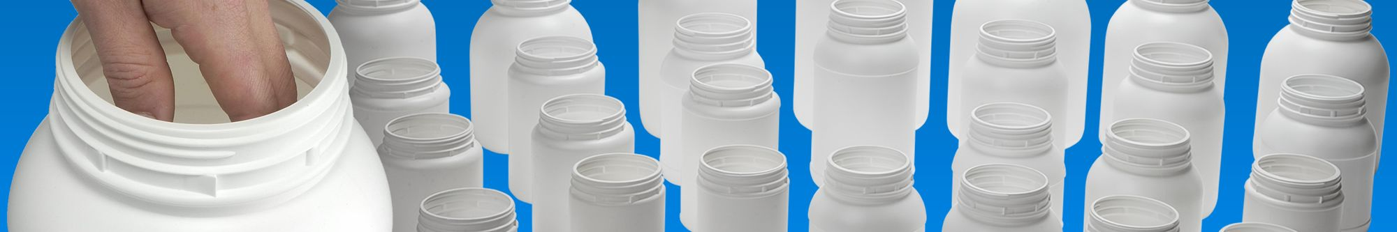 Widemouth jars