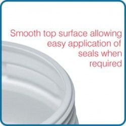 Wide Mouth smooth surface for seal