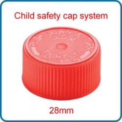 28mm child safety cap
