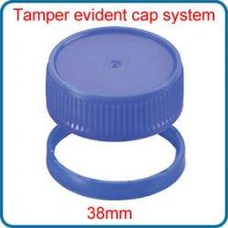 38mm Tamper evident cap system